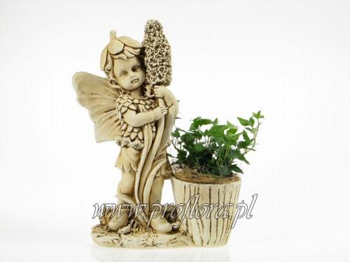 kompozycje kwiatowe elfik z hiacyntem (pałką)