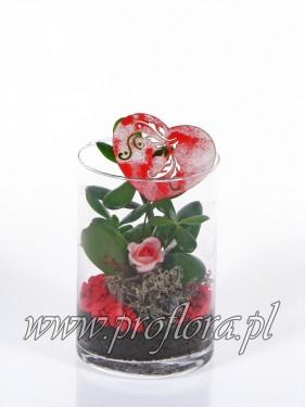 rura mała sucul Walent dekoracja kwiatowa - od producenta